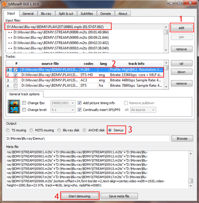 tsMuxer  Why are TS files smaller than M2TS files
