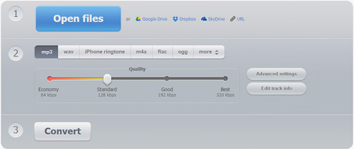 Convert MP4 to MP3 (Online Free ) - Evano