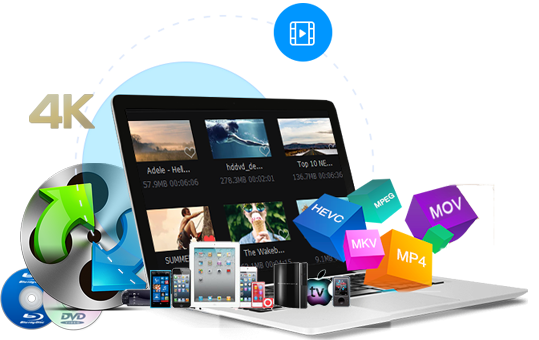 convert all video and audio formats