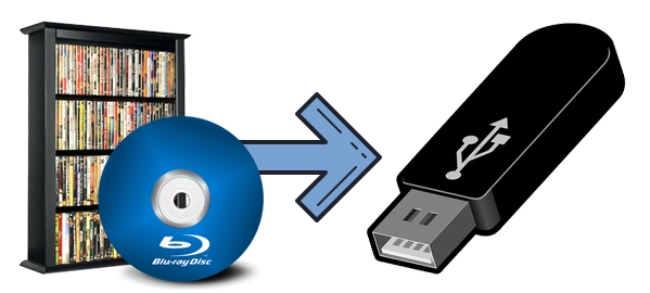 Copy Blu-ray to USB Flash Drive